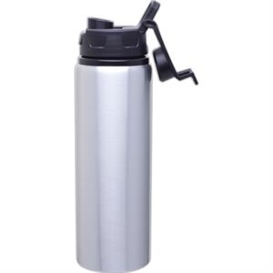 H2go (r) Surge - Aluminum - 28 Oz Single Wall Aluminum Water Bottle With Threaded Flip-top Lid