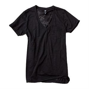 X S- X L - Unisex Burnout Deep V-neck Pocket T-shirt