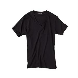 S- X L - Men's Perfect Rib V-neck T-shirt Made Of 100% Pima Cotton
