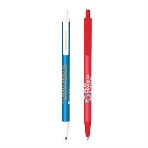 Bic (r) Clic Stic (r) - Antimicrobial Pen With Break-resistant Pocket Clip