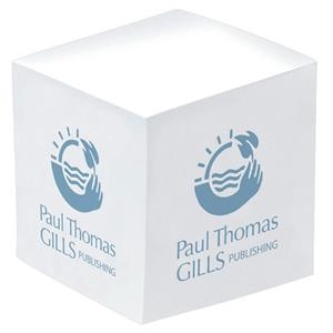 "3"" X 3"" X 3"" - Eco Friendly Non-adhesive Notepad Cube. 1-color Imprint At A Budget Price"