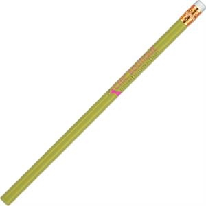 Abert Special (tm) - 1 Color - Acid Green - Pencil With Bonded Core In Quality Round Wood Barrel
