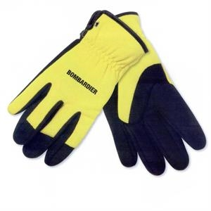 Mechanics Glove Made Of Synthetic Leather And Spandex