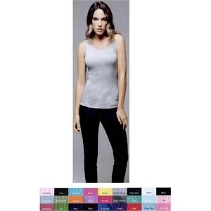 Bella + Canvas (r) - Neutral S- X L - Ladies 5.8 Oz 100% Combed Ringspun Cotton 2x1 Rib. Blank Product