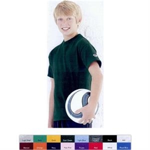 Champion (r) - Heathers - Youth Short Sleeve Tagless T-shirt. Blank Product