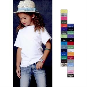 Anvil (r) - Colors - Youth Ringspun Fashion Fit T-shirt. Blank Product