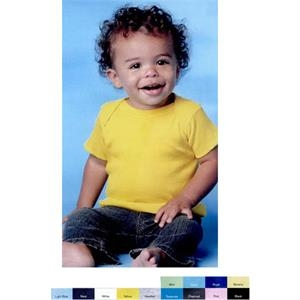 Rabbit Skins (r) - Colors - Infant Lap Shoulder T-shirt. Blank Product