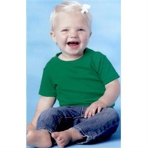 Rabbit Skins - Colors 6-24mo - Infant Short Sleeve Cotton T-shirt. Blank Product