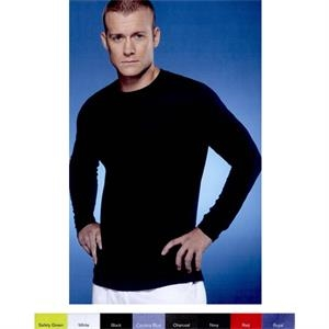 Gildan (r) - Colors 3 X L - Performance Long Sleeve T-shirt With Aqua F X  (r) Wicking Properties. Blank