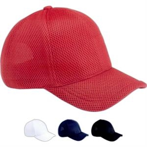 Magic Headwear - Air Mesh Cap In 100% Polyester. Blank