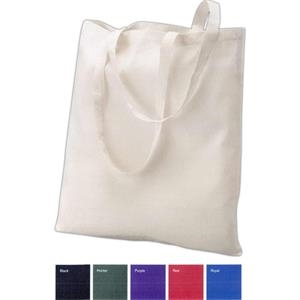 "Valubag (tm) - Classic Cotton Tote With 24"" Shoulder Straps. Blank"