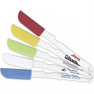 Cook's Favorite - Slim Silicone Spatula Mounted On A Ergo-grip, Non Slip Handle