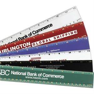 "Pro-scale - Plastic 12"" Ruler Is Solid, Heavy Duty With A Non-smear, Beveled Edges"