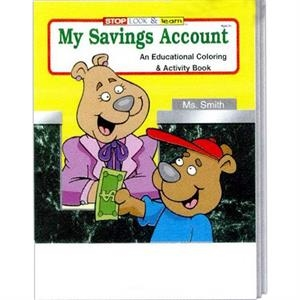 My Savings Account Coloring And Activity Book
