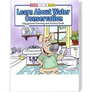 Learn About Water Conservation Coloring And Activity Book