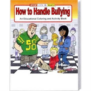 How To Handle Bullying Coloring/activity Book Fun Pack With Imprinted Crayon Box