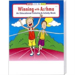 Winning With Asthma Coloring And Activity Book Fun Pack With 4-pack Of Crayons