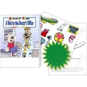 A Visit To The Doctor's Office Sticker And Coloring Activity Book