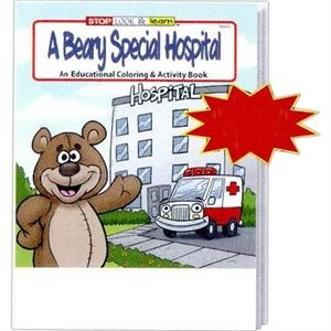 A Beary Special Hospital Coloring And Activity Book Fun Pack With 4-pack Of Crayons