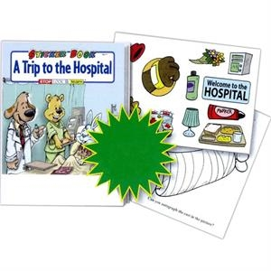 A Trip To The Hospital Sticker And Coloring Activity Book