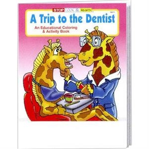 A Trip To The Dentist Coloring And Activity Book Fun Pack With 4-pack Of Crayons