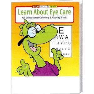 Learn About Eye Care Educational Coloring And Activity Book