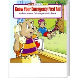 Know Your Emergency First Aid Coloring And Activity Book Fun Pack