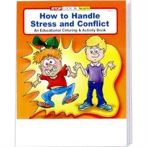 How To Handle Stress And Conflict Coloring And Activity Book Fun Pack With Crayons