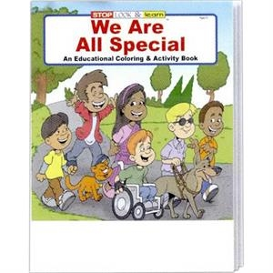 We Are All Special Coloring And Activity Book Fun Pack With A 4-pack Of Crayons