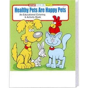Healthy Pets Are Happy Pets Educational Coloring And Activity Book