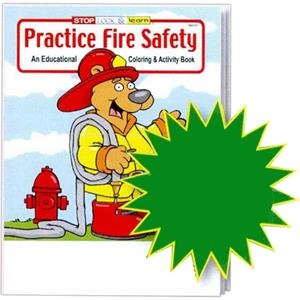 Practice Fire Safety Educational Coloring And Activity Book Fun Pack