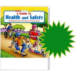A Guide To Health And Safety Coloring And Activity Book Fun Pack With Crayons