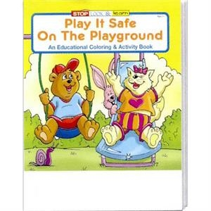 Play It Safe On The Playground Coloring And Activity Book