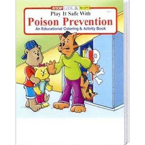 Play It Safe With Poison Prevention Coloring And Activity Book