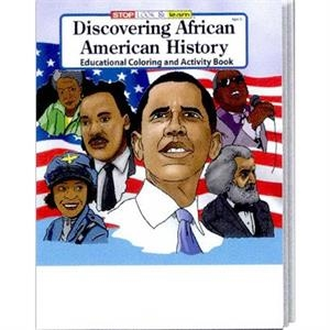 Discovering African American History Coloring/activity Book Fun Pack With Crayons