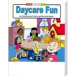 Daycare Fun Coloring And Activity Book Fun Pack With A 4-pack Of Crayons