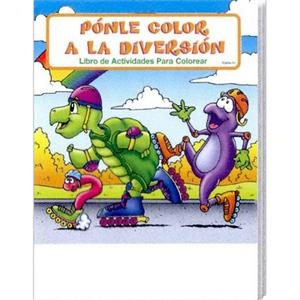 Fun To Color Spanish Coloring And Activity Book Fun Pack With Crayons