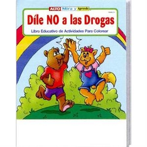 Stay Drug Free Spanish Coloring And Activity Book