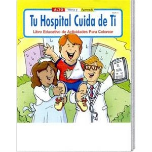 Coloring Book - Your Hospital Cares About You Spanish