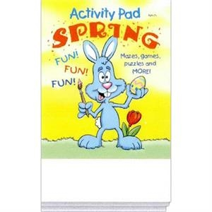 Spring Activity Pad Fun Pack With Mazes, Games, Puzzles And More!