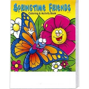 Springtime Friends Coloring And Activity Book