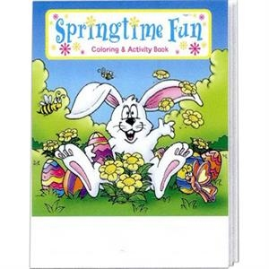 Springtime Fun Coloring And Activity Book