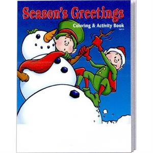 Season's Greeting Holiday Coloring And Activity Book