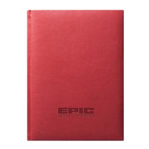 Concerto - Journal - Red. Sleek. Leather-like Feel