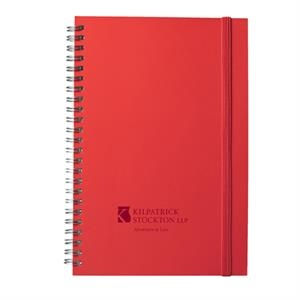 Fusion (r) - Journal - Red. A Modern Twist On The Classic Thinker's Journal