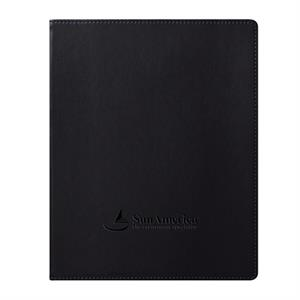 Urban (r) - Journal - Black. Classy. Cool, Fresh. The Hand-stitch, Faux Leather Cover