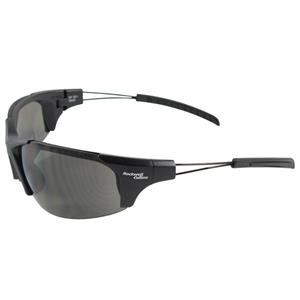 Hi-nrg - Gray Lens - Safety Glasses With A Semi-rimless Design