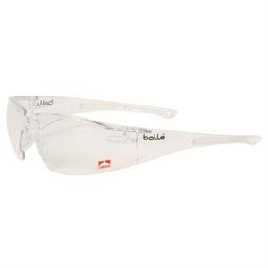 Bolle (r) Rush (tm) - Clear Lens - Ultra Lightweight Safety Glasses