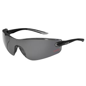 Bolle (r) Cobra (r) - Gray Lens - Safety Glasses With Microfiber Pouch And Adjustable Neck Cord