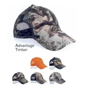 Outdoor Cap (r) - Camo Cap Made Of 60% Brushed Cotton /40% Polyester Twill. Blank Product